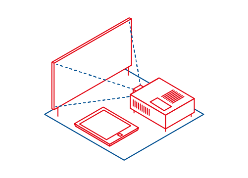 Package with presentation technique